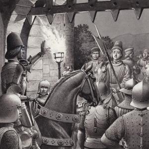 Duke Federigo Locked Out of Urbino by Pat Nicolle