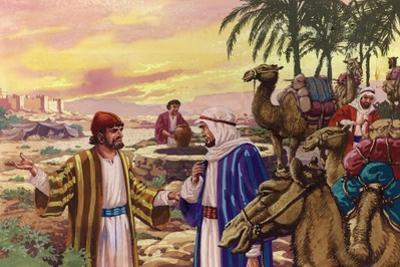 Eliezer Arriving at the Well