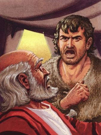 Esau with His Father Isaac