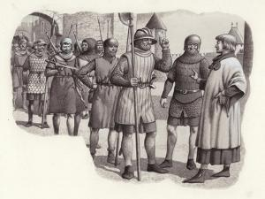 Foot Soldiers from the 14th Century by Pat Nicolle