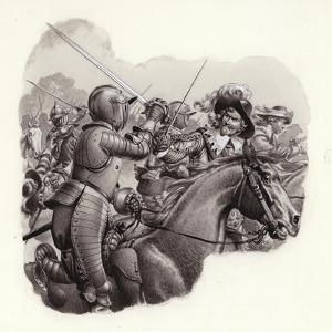 Heavily Armoured Cavalry of the 17th Century by Pat Nicolle
