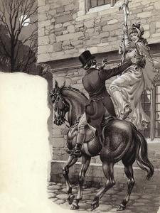 John Peel and Mary White Elope to Gretna Green by Pat Nicolle