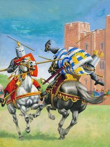 Joust by Pat Nicolle