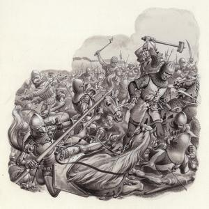 Knights Slaughtered on the Battlefield by Pat Nicolle