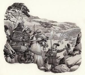 Mongols Invade Japan by Pat Nicolle