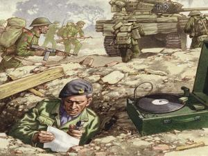 Reporting from the Normandy Landings by Pat Nicolle