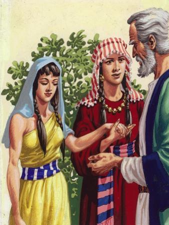 Sarai Introducing Hagar to Abraham