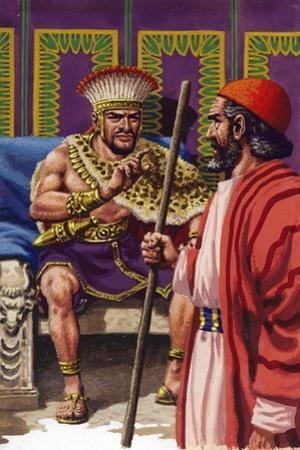 Saul Appearing before Samuel