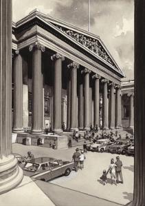 The British Museum in the 1960S by Pat Nicolle