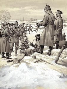 The Christmas Day Armistice by Pat Nicolle