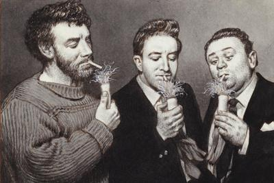 The Goons: Spike Milligan, Peter Sellers, Harry Secombe