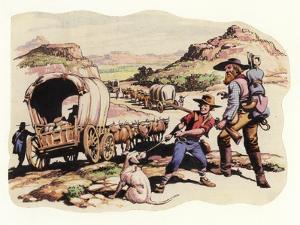 The Great Trek of 1835-1837 by Pat Nicolle
