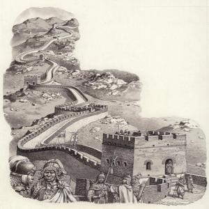 The Great Wall of China by Pat Nicolle