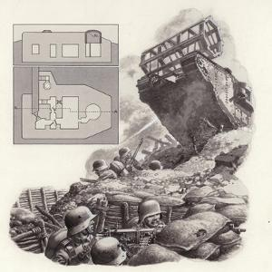 The Tank, First Used During the Great War by Pat Nicolle