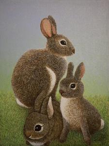 Rabbit Family, 2016 by Pat Scott
