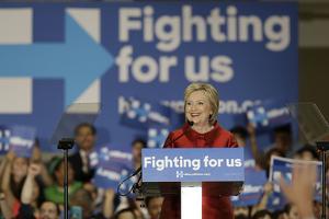 DEM 2016 Clinton by Pat Sullivan
