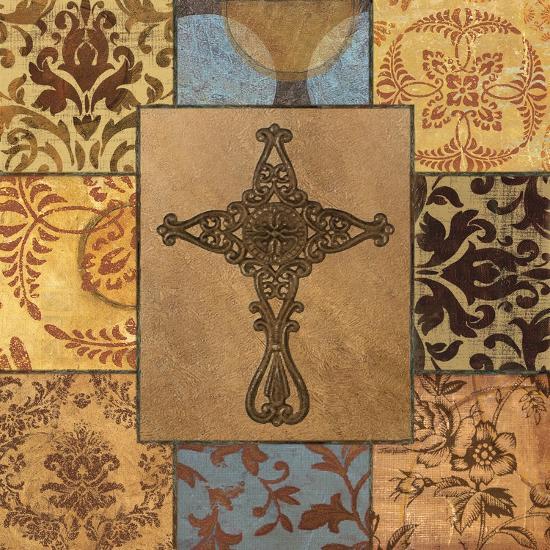 Patchwork Cross I-Todd Williams-Art Print