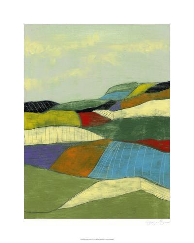 Patchwork Fields II-Jennifer Goldberger-Limited Edition