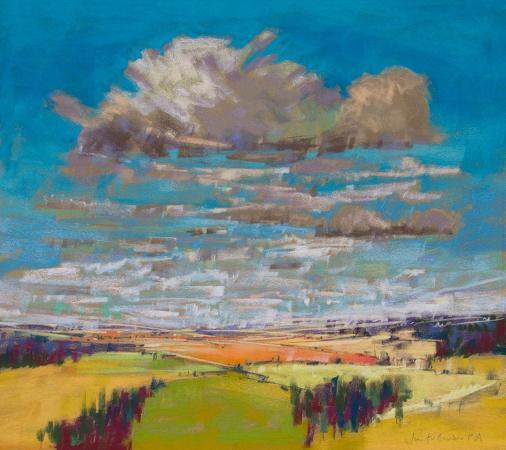 patchwork-fields-summer-clouds