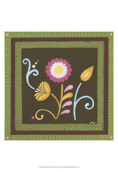 Patchwork Garden II-Erica J^ Vess-Art Print