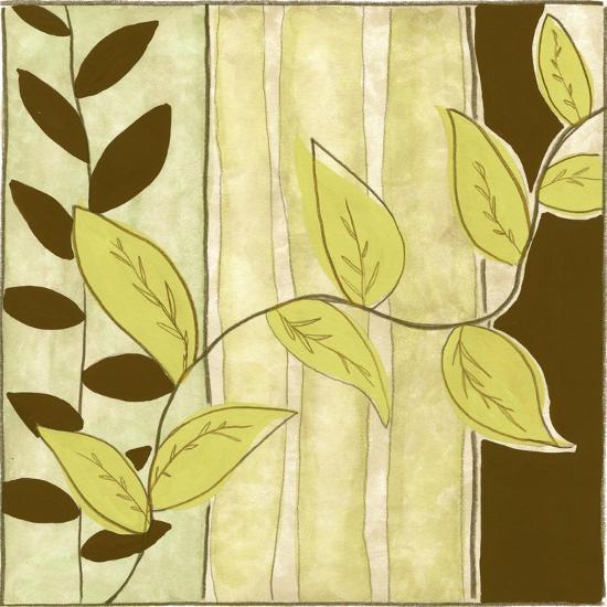 Patchwork Garden III-Jennifer Goldberger-Art Print