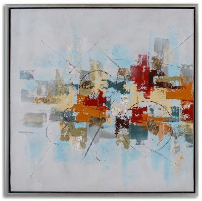Patchwork I--Hand Painted Art