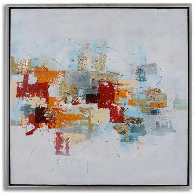 Patchwork II--Hand Painted Art
