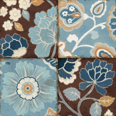 Patchwork Motif Blue II-Pela Design-Art Print
