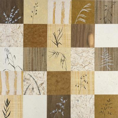 Patchwork of Leaves II-Julieann Johnson-Premium Giclee Print