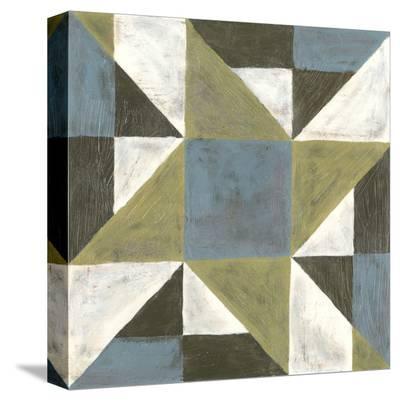 Patchwork Tile I-Vanna Lam-Stretched Canvas Print
