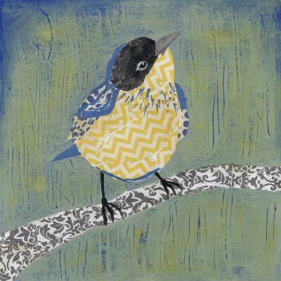 Patchwork Wren II-Grace Popp-Art Print
