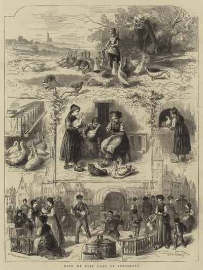 Pate De Foie Gras at Strasburg--Giclee Print