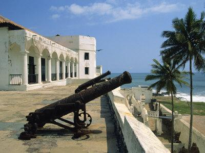 St. Georges Fort, Oldest Fort Built by Portuguese in the Sub-Sahara, Elmina, Ghana, West Africa