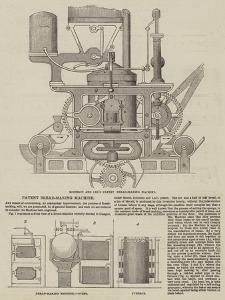 Patent Bread-Making Machine