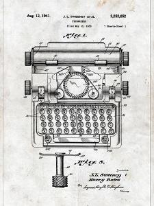 Typewriter by Patent