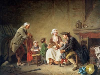 Paternal Love-Etienne Aubry-Giclee Print