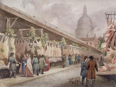 Paternoster Square, London, C1860--Giclee Print