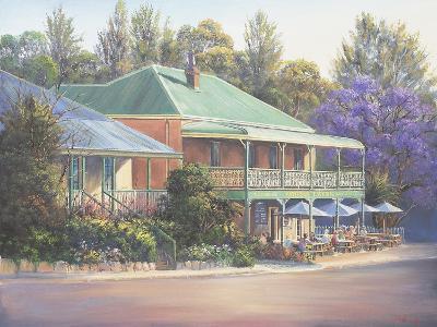 Paterson Inn-John Bradley-Giclee Print
