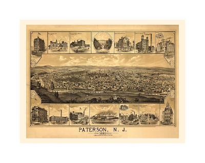 Paterson, NJ-1880-Dan Sproul-Giclee Print