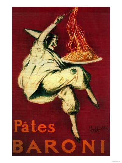 Pates Baroni Vintage Poster - Europe-Lantern Press-Art Print