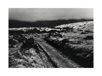 Path Above Talybont, Mist Drovers Roads, Wales-Fay Godwin-Giclee Print