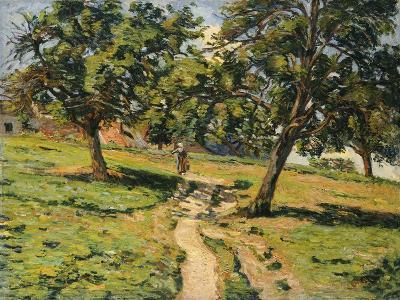 Path at Damiette, C.1886-Jean Baptiste Armand Guillaumin-Giclee Print