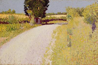 Path in the Country, C.1886-Charles Angrand-Giclee Print