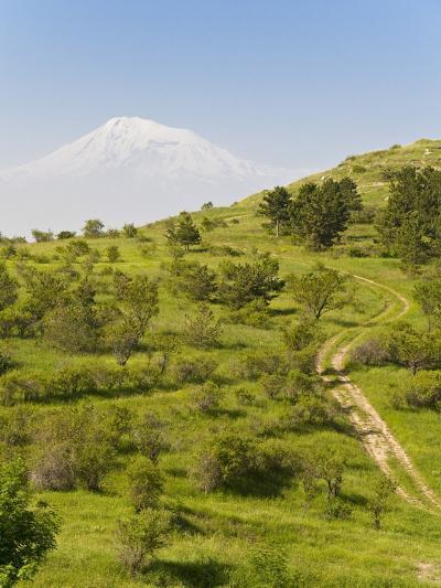 Path Leading to Mount Ararat, Armenia, Caucasus, Central Asia, Asia-Michael Runkel-Photographic Print