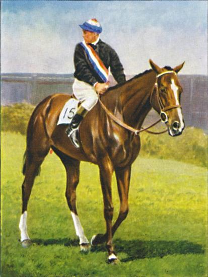 Path of Peace, Jockey: M. Beary', 1939-Unknown-Giclee Print