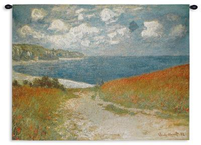 Path Through the Corn at Pourville, c.1882 - Small-Claude Monet-Wall Tapestry