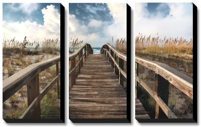 Path To Paradise-Michael Cahill-Canvas Art Set