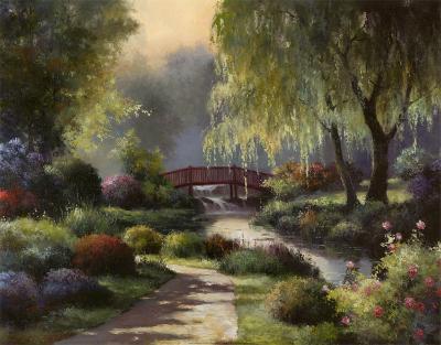 Path to Willow Park-T^ C^ Chiu-Art Print