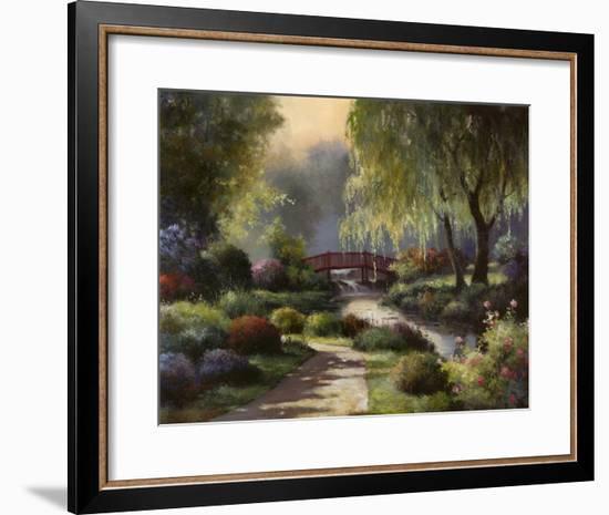 Path to Willow Park-T^ C^ Chiu-Framed Art Print