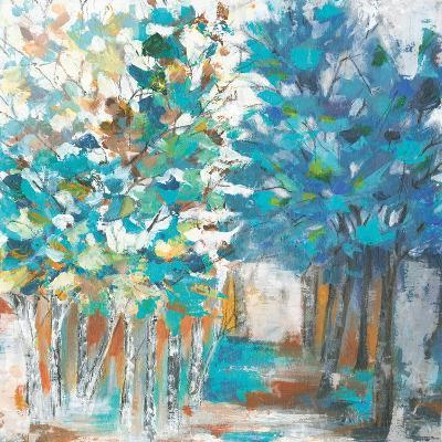 Pathway of Blue-Eva Watts-Art Print